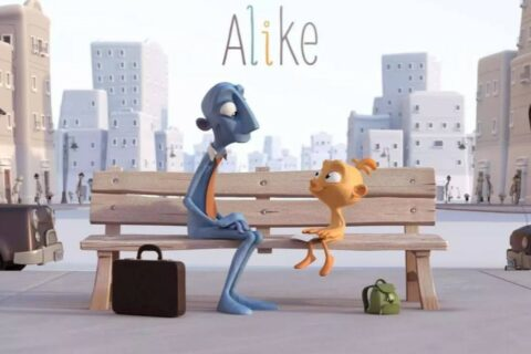 【奥斯卡最佳动画短片】Alike,能给父母带去不一样的思考